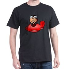 Red airplane T-Shirt