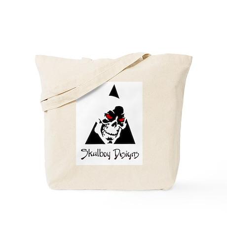 Skulboy Designs logo Tote Bag