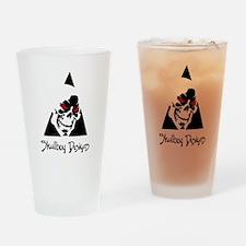 Skulboy Designs logo Drinking Glass