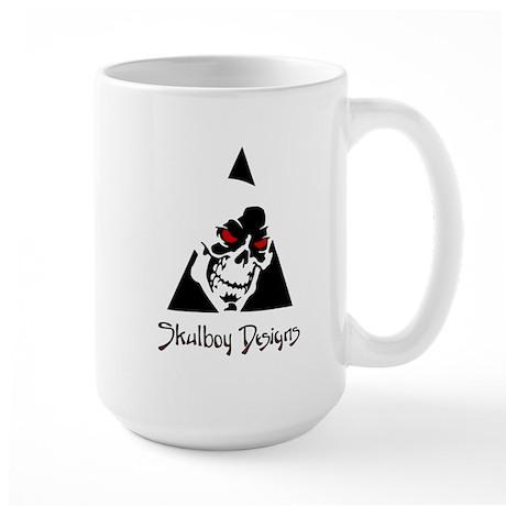 Skulboy Designs logo Large Mug