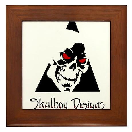 Skulboy Designs logo Framed Tile