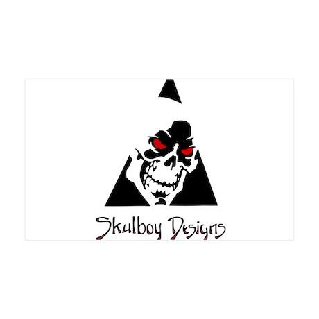 Skulboy Designs logo 35x21 Wall Decal