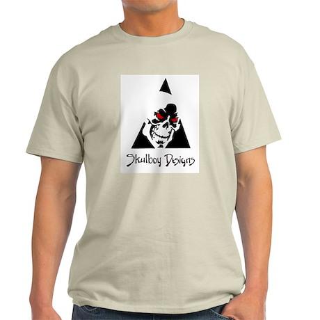 Skulboy Designs logo Light T-Shirt