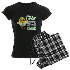 Lymphoma Picked The Wrong Chick pajamas