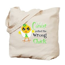 Lymphoma Picked The Wrong Chick Tote Bag