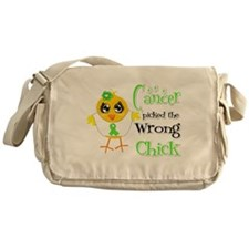 Lymphoma Picked The Wrong Chick Messenger Bag