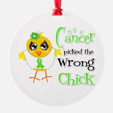 Lymphoma Picked The Wrong Chick Ornament