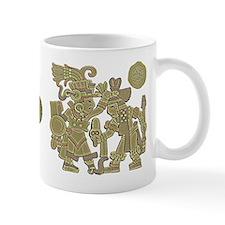 Aztec Carved Mug