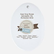CozyCrop House 2012 Ornament (Oval)