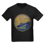 USS SCAMP Kids Dark T-Shirt