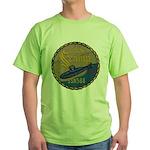 USS SCAMP Green T-Shirt