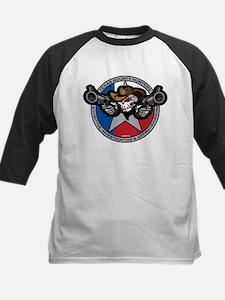 Texas Bounty Hunters Skull and Guns Tee
