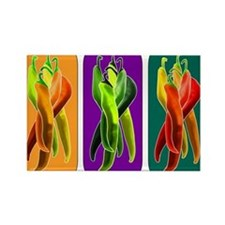 Abstract Chiles Rectangle Magnet