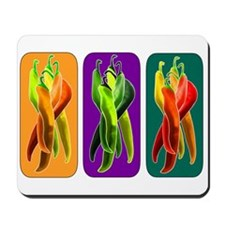 Abstract Chiles Mousepad