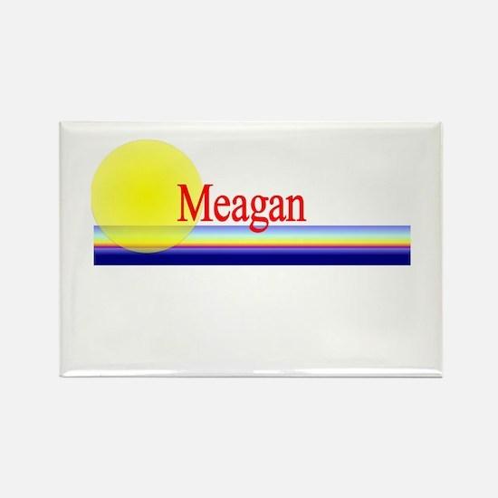 Meagan Rectangle Magnet