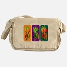 Abstract Chiles Messenger Bag