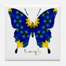 Charisma Butterfly Tile Coaster