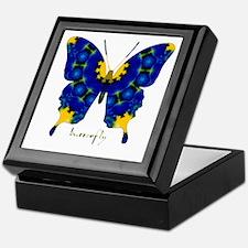 Charisma Butterfly Keepsake Box