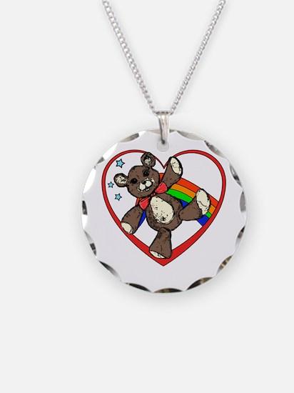 I hart teddy bears Necklace