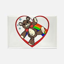 I hart teddy bears Rectangle Magnet