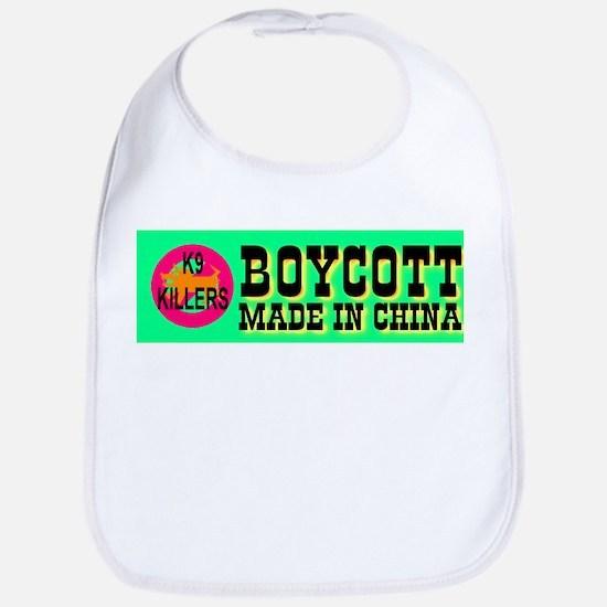 Boycott Made In China K9 Kill Bib