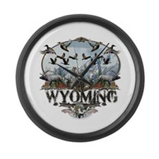 Wyoming Outdoors Large Wall Clock
