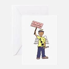 Stand Up for CDH Babies Greeting Card