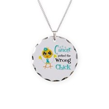 Gynecologic Cancer Picked Wrong Chick Necklace