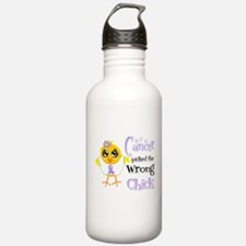 General Cancer Picked The Wrong Chick Water Bottle