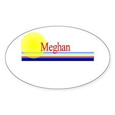 Meghan Oval Decal