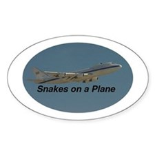 Snakes on Air Force One Oval Decal