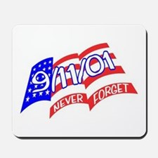 Never Forget Flag Mousepad