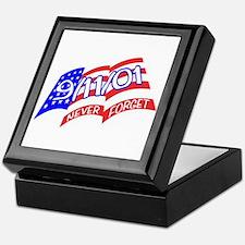 Never Forget Flag Keepsake Box