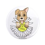 """Oops-a-Dazy Puppy 3.5"""" Button"""
