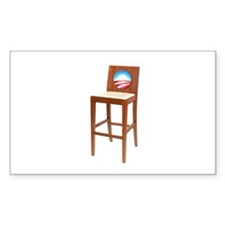 Anti Obama Empty Chair Decal