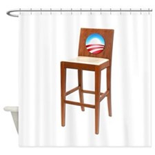 Anti Obama Empty Chair Shower Curtain