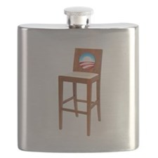 Anti Obama Empty Chair Flask