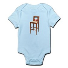 Anti Obama Empty Chair Infant Bodysuit
