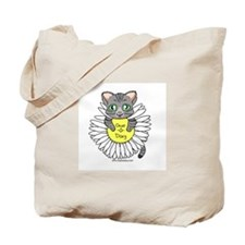 Oops-a-Dazy Kitten Tote Bag