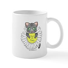 Oops-a-Dazy Kitten Mug