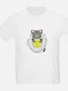 Oops-a-Dazy Kitten T-Shirt