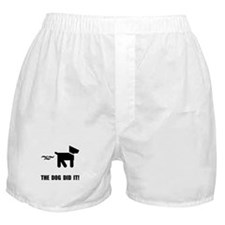 Dog Did It Boxer Shorts