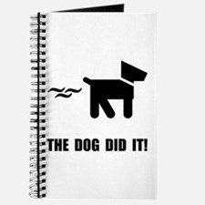 Dog Did It Journal