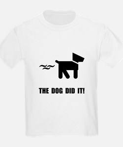 Dog Did It T-Shirt