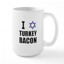 I Star Turkey Bacon Mug