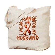 I Wear Orange for my Husband.png Tote Bag