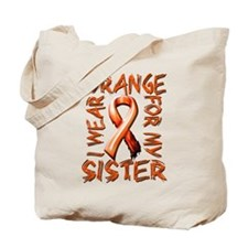 I Wear Orange for my Sister.png Tote Bag
