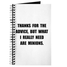Need Minions Journal
