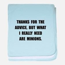 Need Minions baby blanket