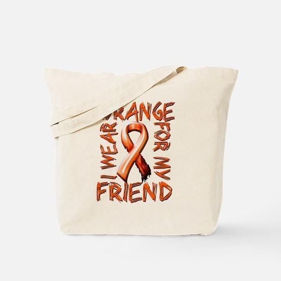 I Wear Orange for my Friend.png Tote Bag